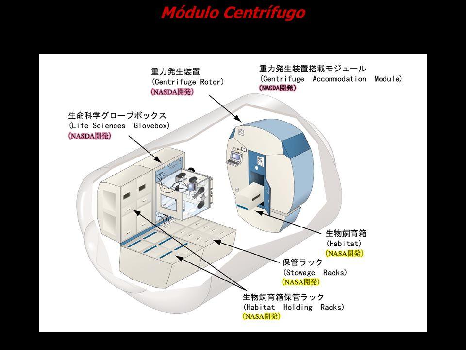 Módulo Centrífugo Cortesia NASDA.
