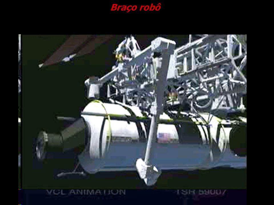 Braço robô Cortesia NASA.