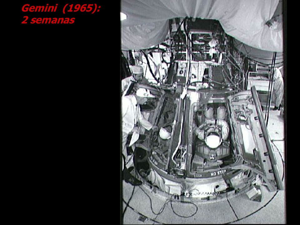 Gemini (1965): 2 semanas Cortesia NASA.
