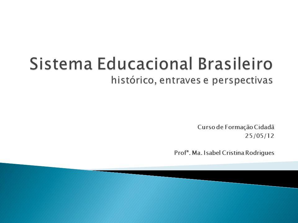 Sistema Educacional Brasileiro histórico, entraves e perspectivas