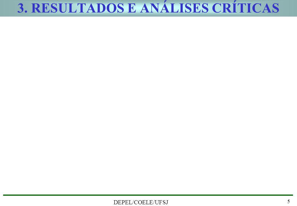 3. RESULTADOS E ANÁLISES CRÍTICAS