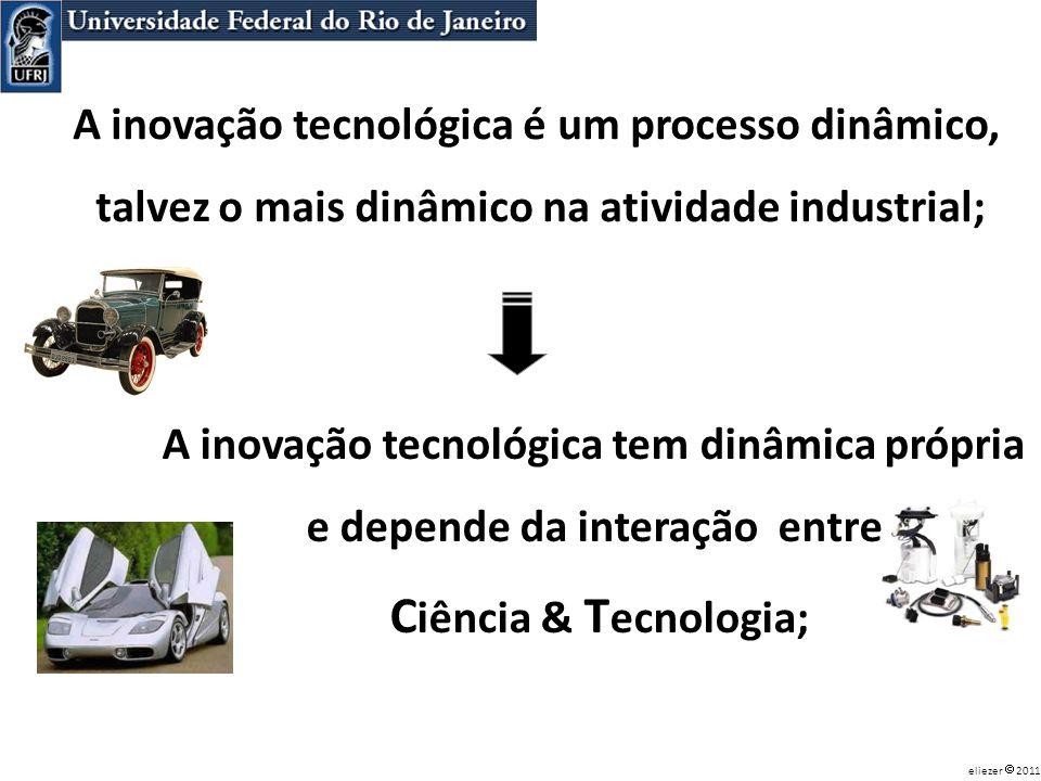 Ciência & Tecnologia; A inovação tecnológica é um processo dinâmico,