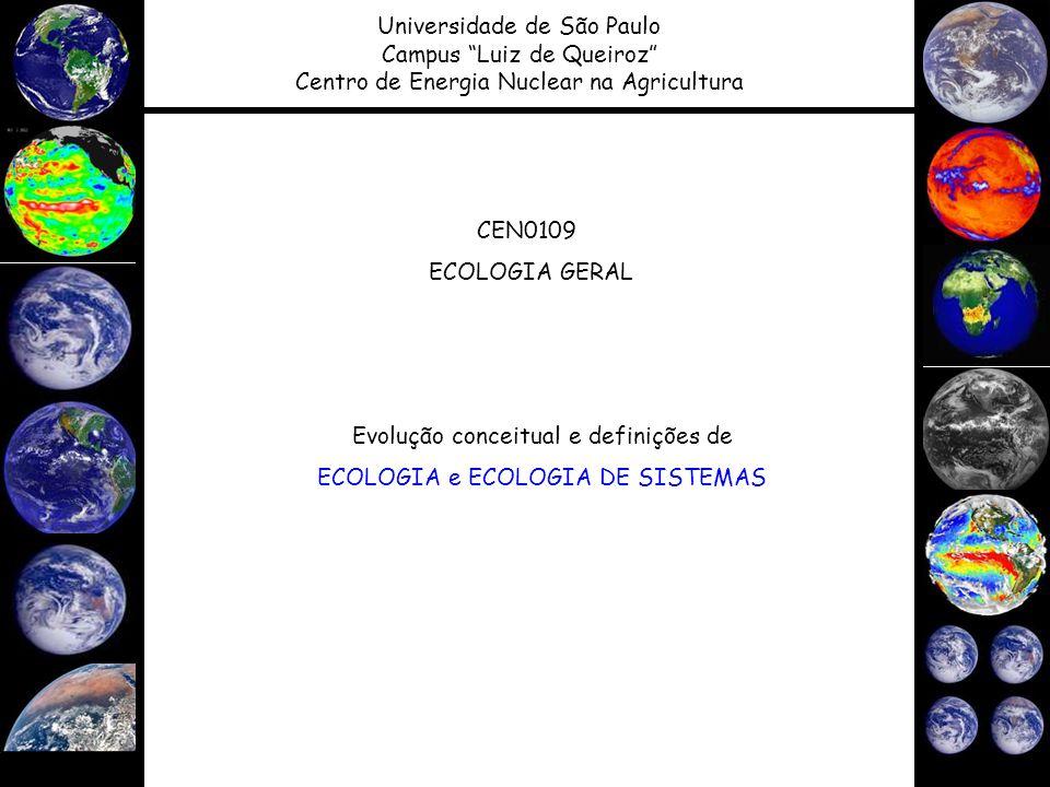 CEN0148 - Ecologia de ecossistemas
