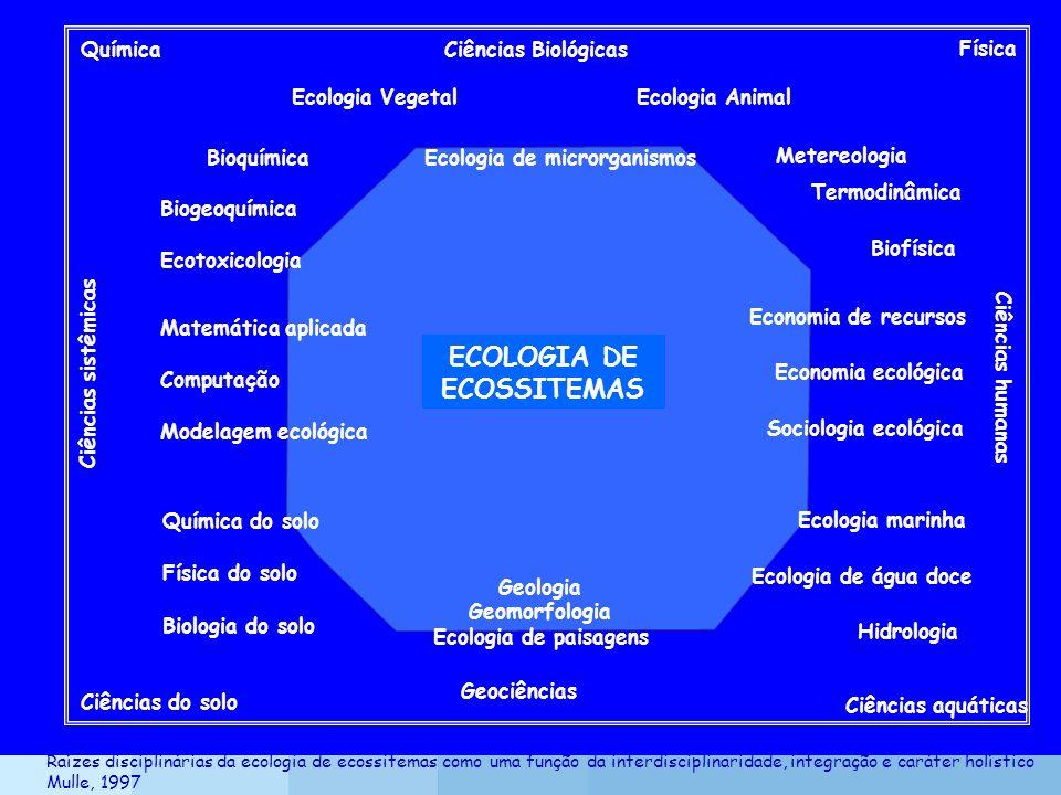 ECOLOGIA DE ECOSSITEMAS