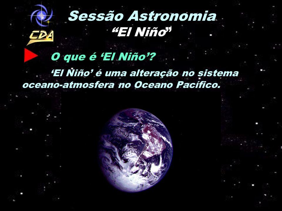Sessão Astronomia El Niño