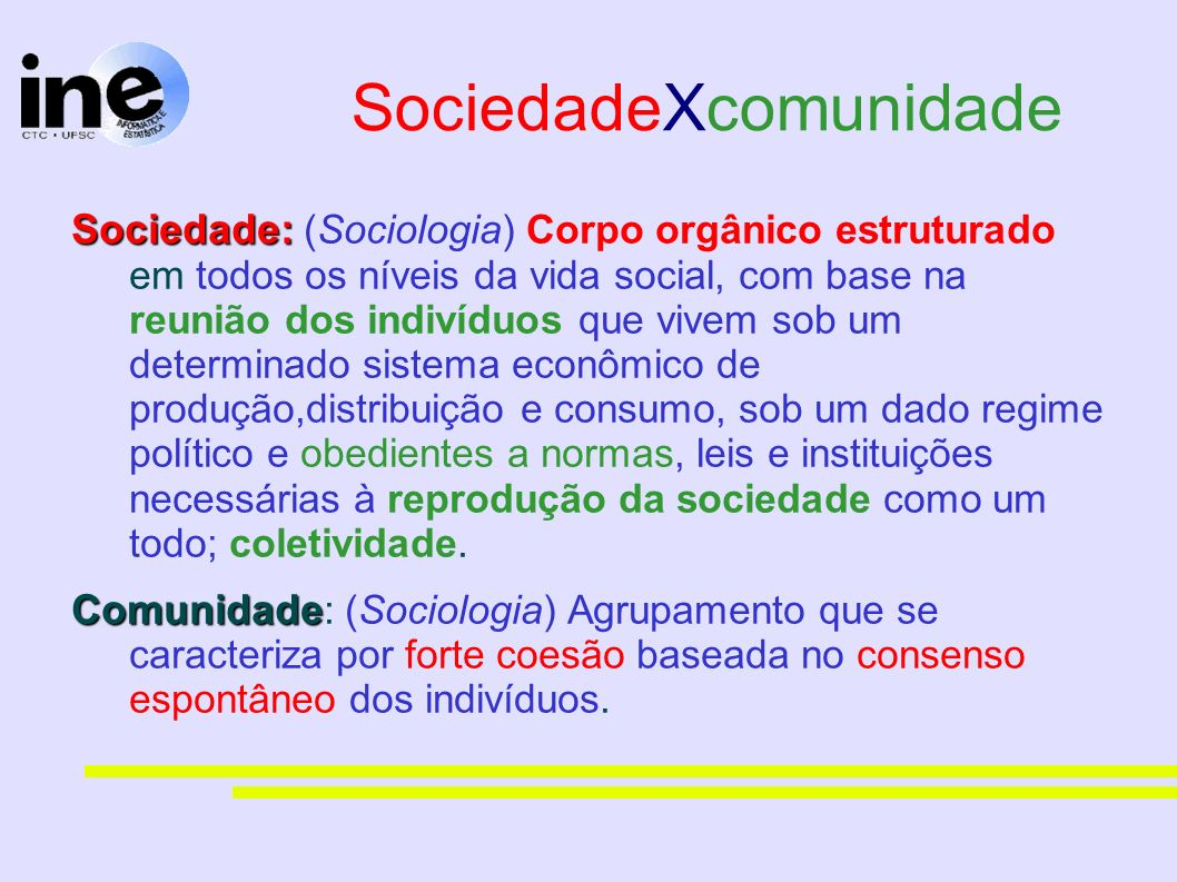 SociedadeXcomunidade