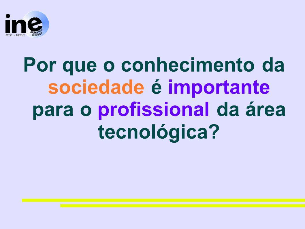 Por que o conhecimento da sociedade é importante para o profissional da área tecnológica
