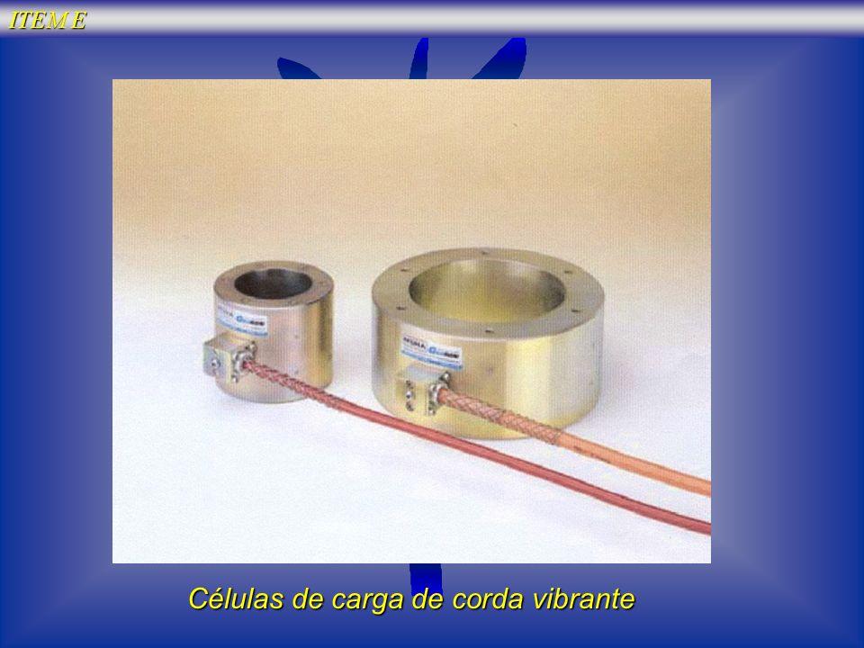 Células de carga de corda vibrante