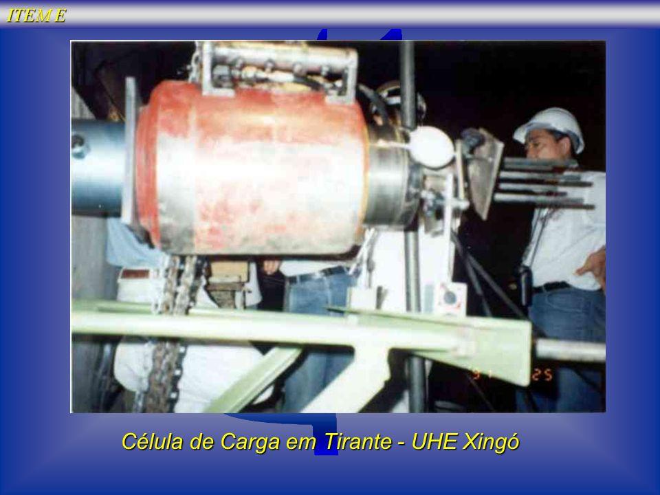 Célula de Carga em Tirante - UHE Xingó