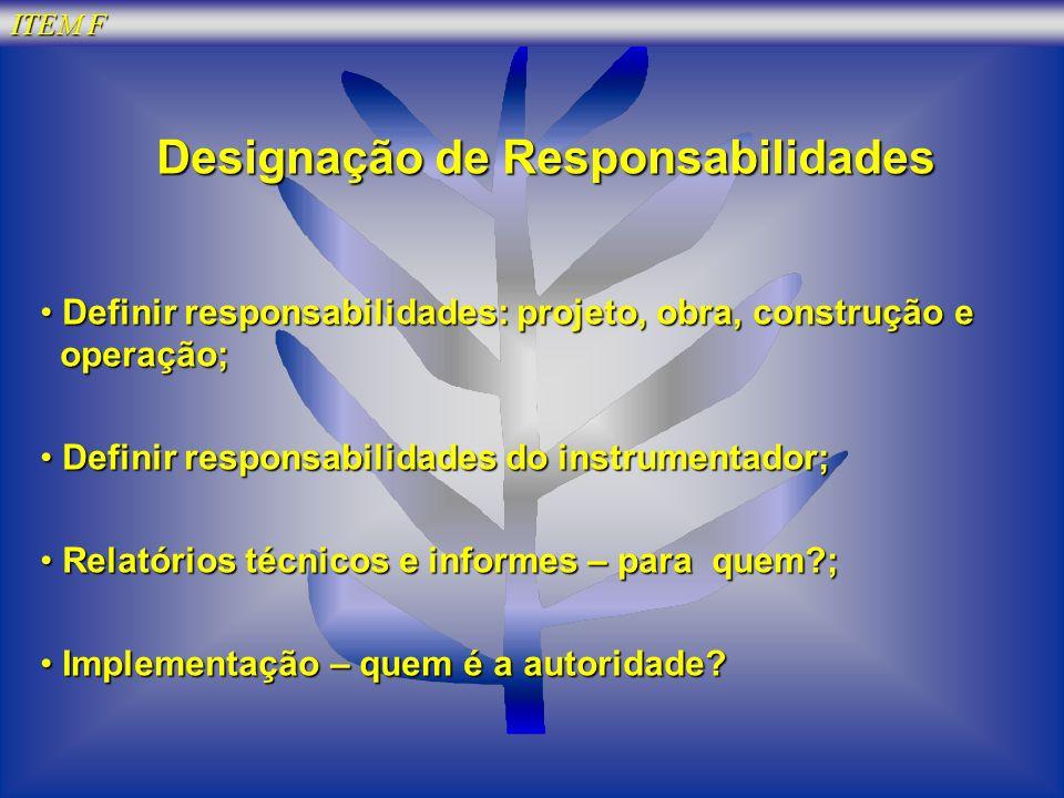 Designação de Responsabilidades