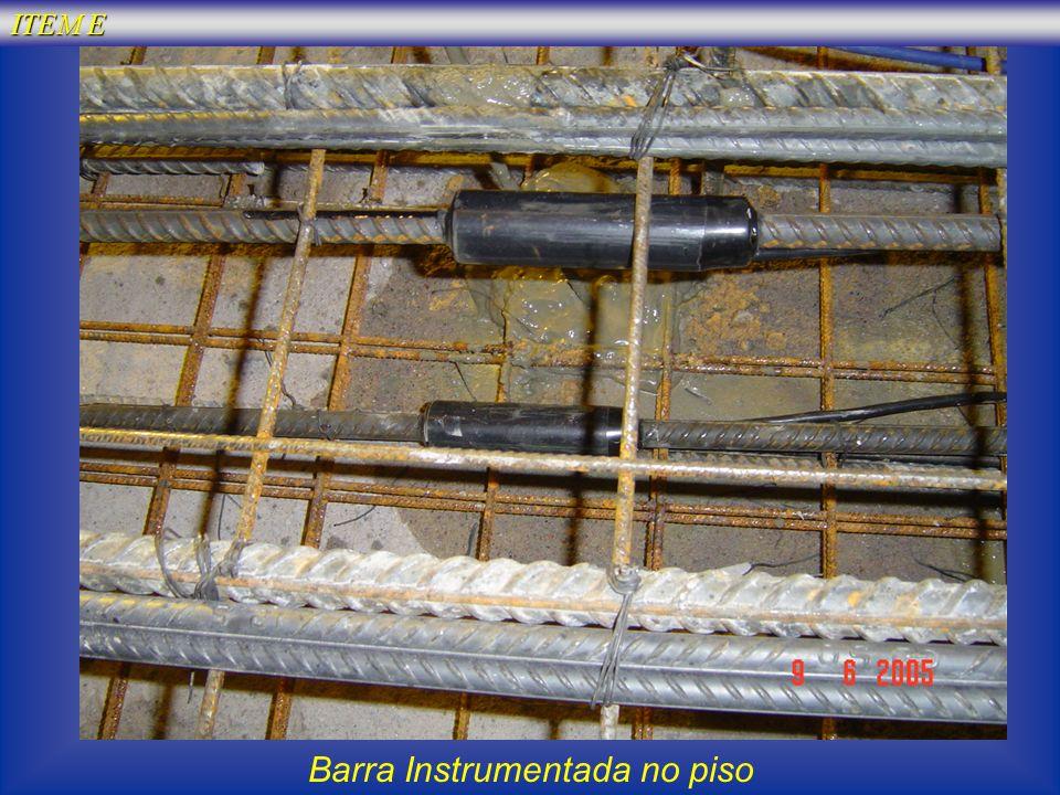 Barra Instrumentada no piso
