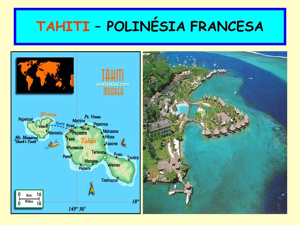 TAHITI – POLINÉSIA FRANCESA
