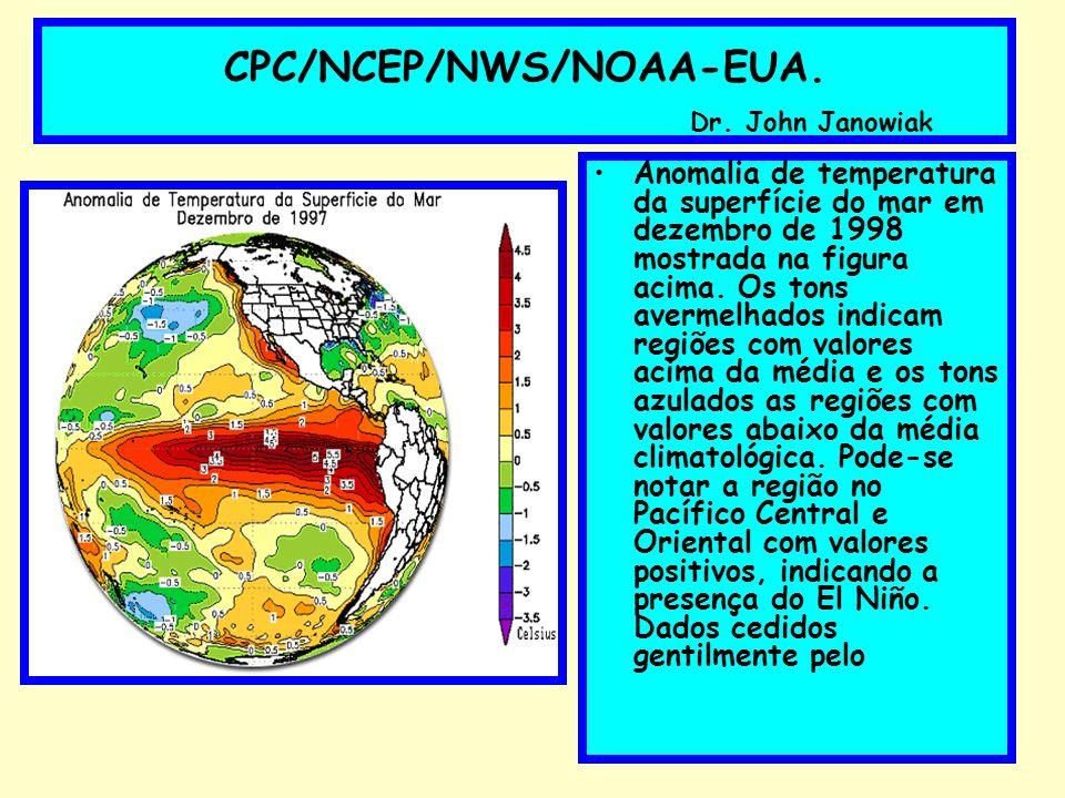 CPC/NCEP/NWS/NOAA-EUA. Dr. John Janowiak
