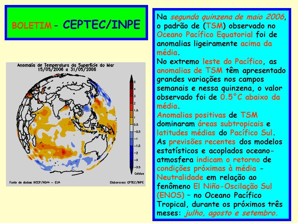BOLETIM – CEPTEC/INPE