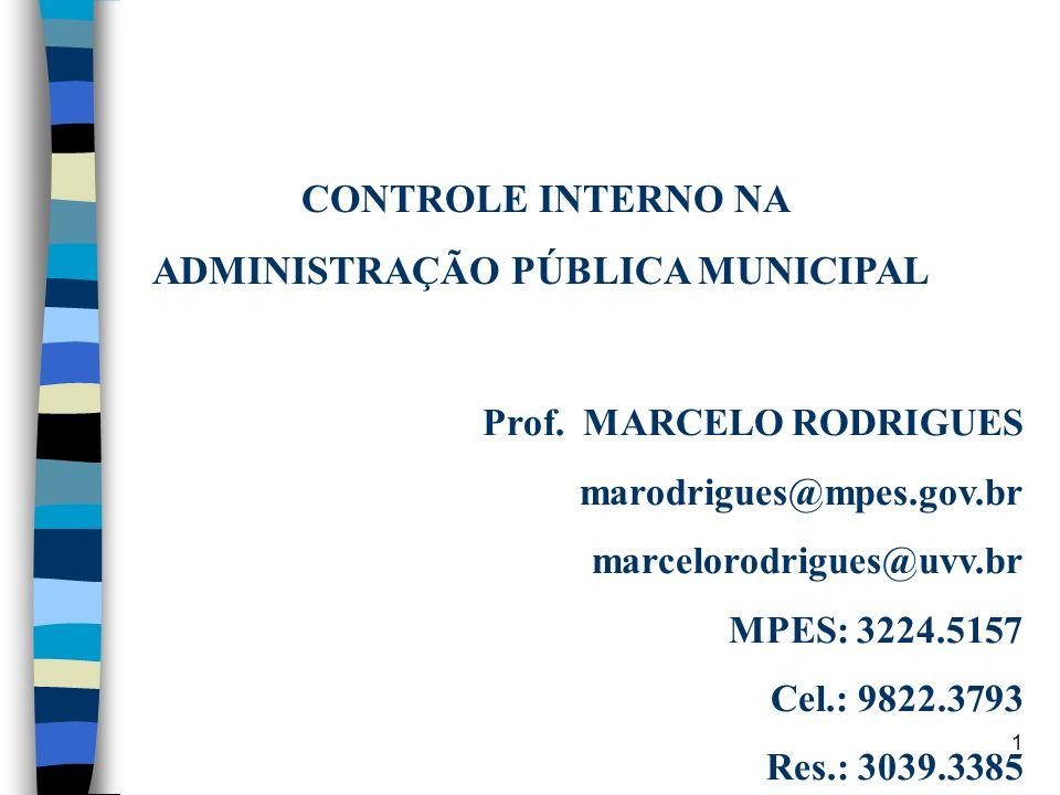 ADMINISTRAÇÃO PÚBLICA MUNICIPAL