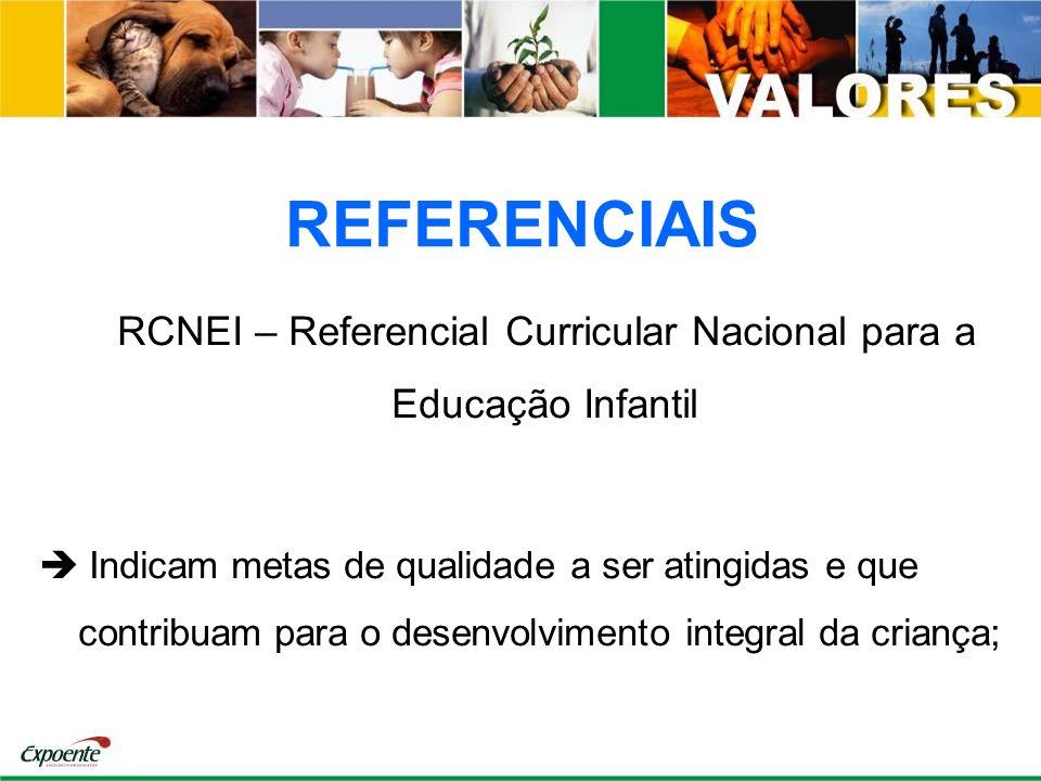 RCNEI – Referencial Curricular Nacional para a Educação Infantil