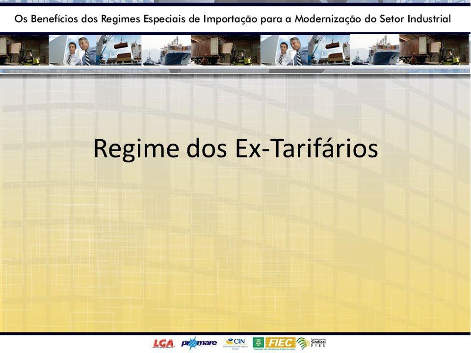 Regime dos Ex-Tarifários