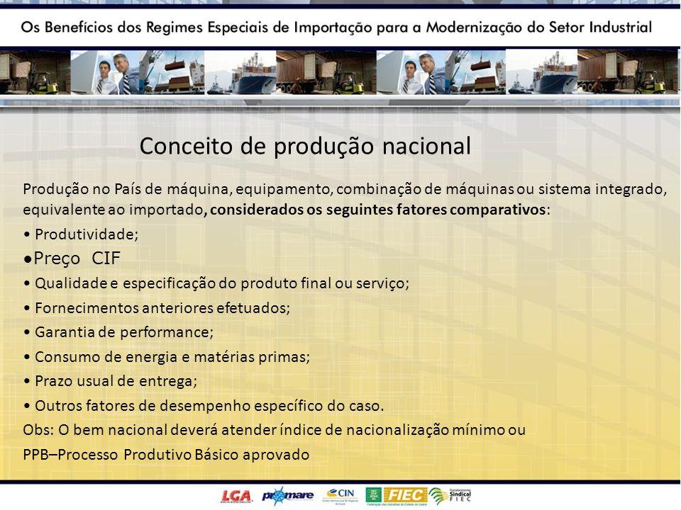 Conceito de produção nacional