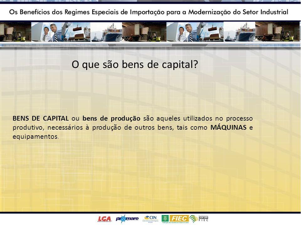 O que são bens de capital