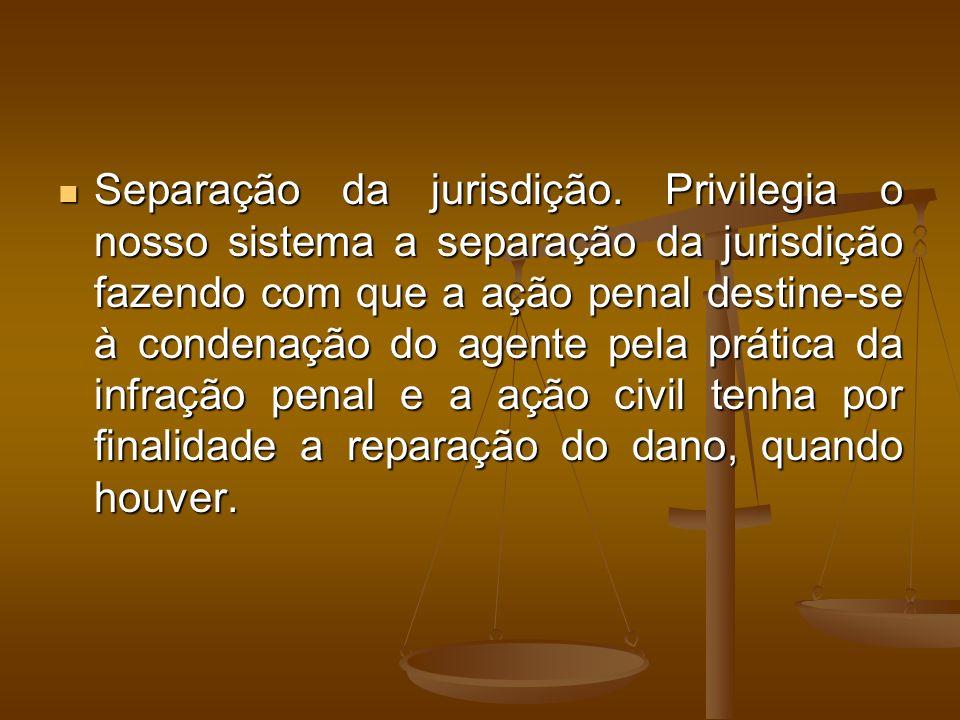 Separação da jurisdição