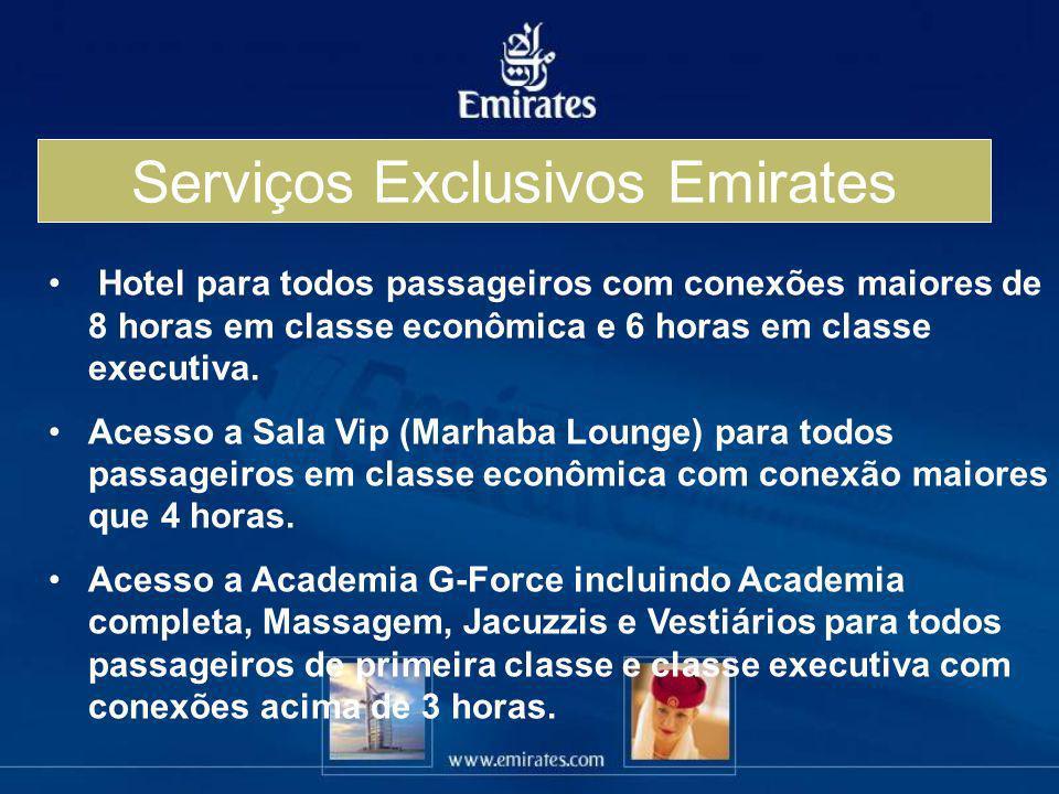 Serviços Exclusivos Emirates
