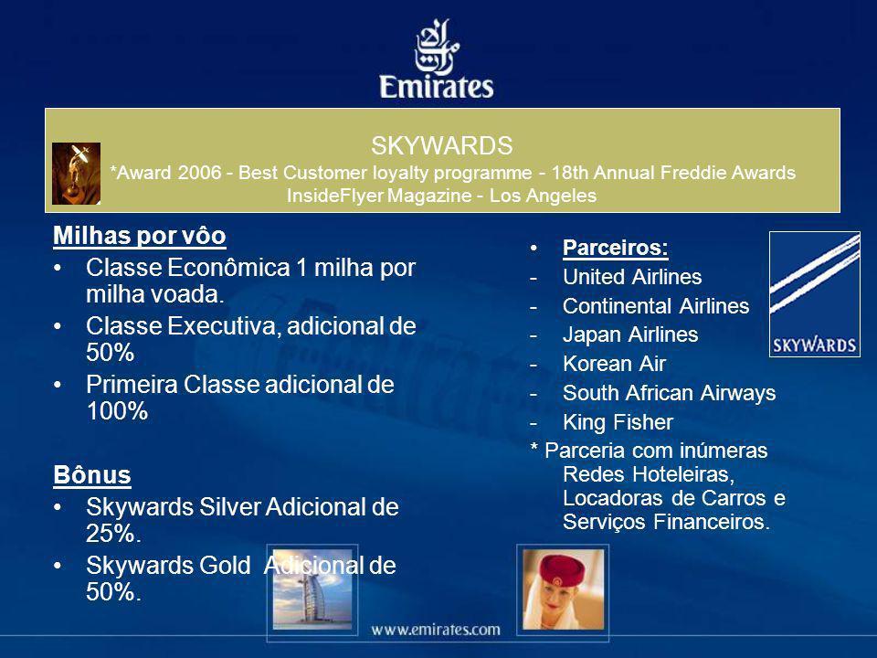 SKYWARDS *Award 2006 - Best Customer loyalty programme - 18th Annual Freddie Awards InsideFlyer Magazine - Los Angeles
