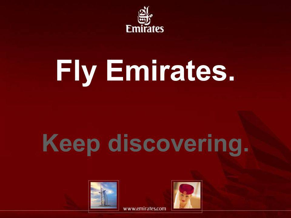 Fly Emirates. Keep discovering.