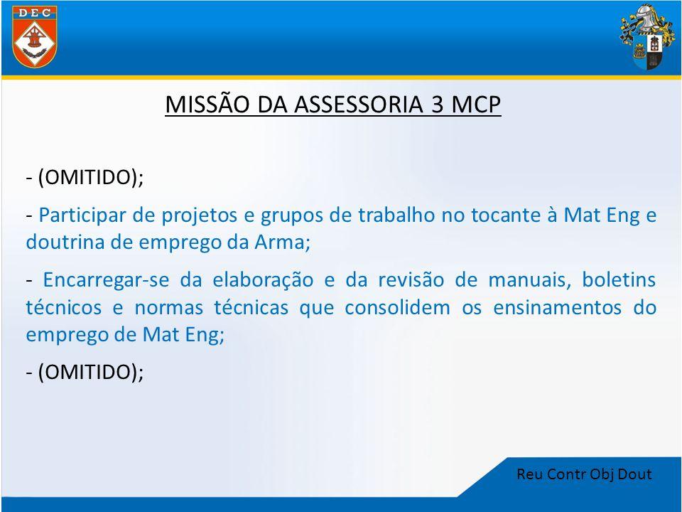 MISSÃO DA ASSESSORIA 3 MCP