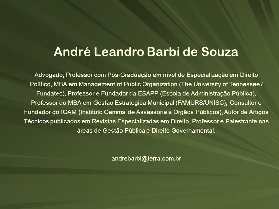 André Leandro Barbi de Souza