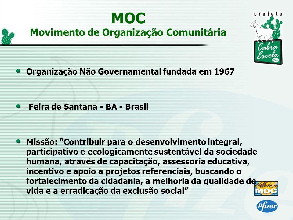 MOC Movimento de Organização Comunitária
