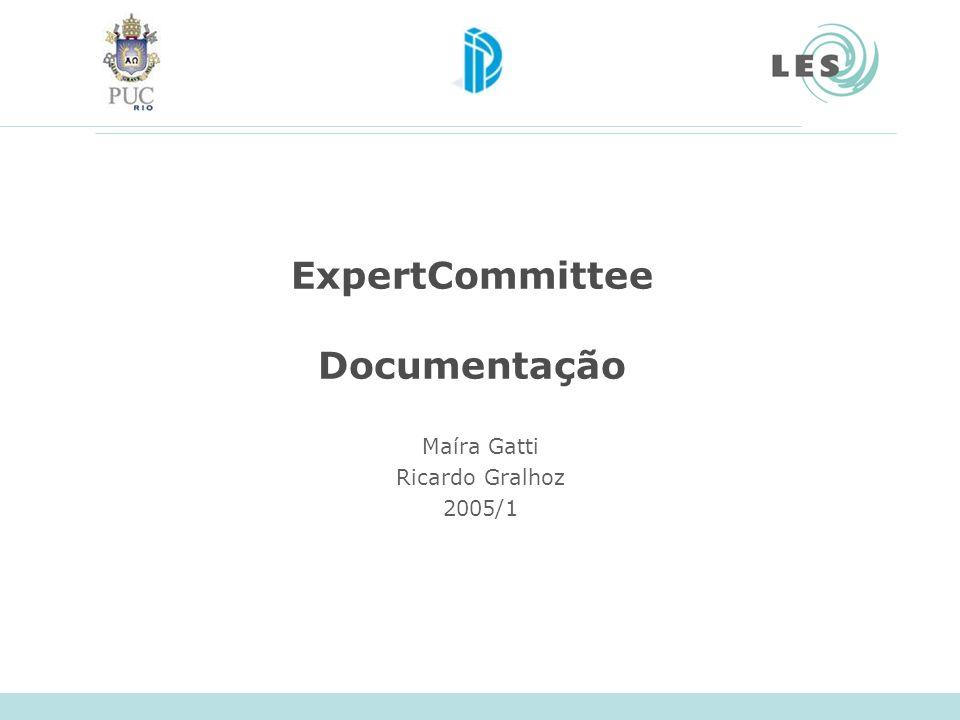 ExpertCommittee Documentação