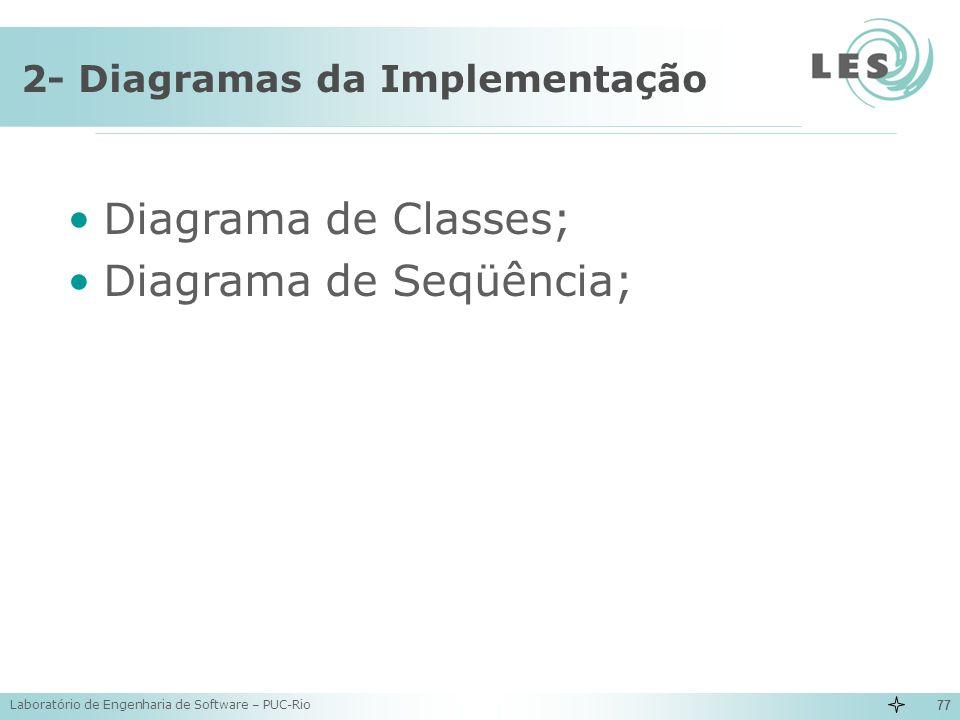 2- Diagramas da Implementação