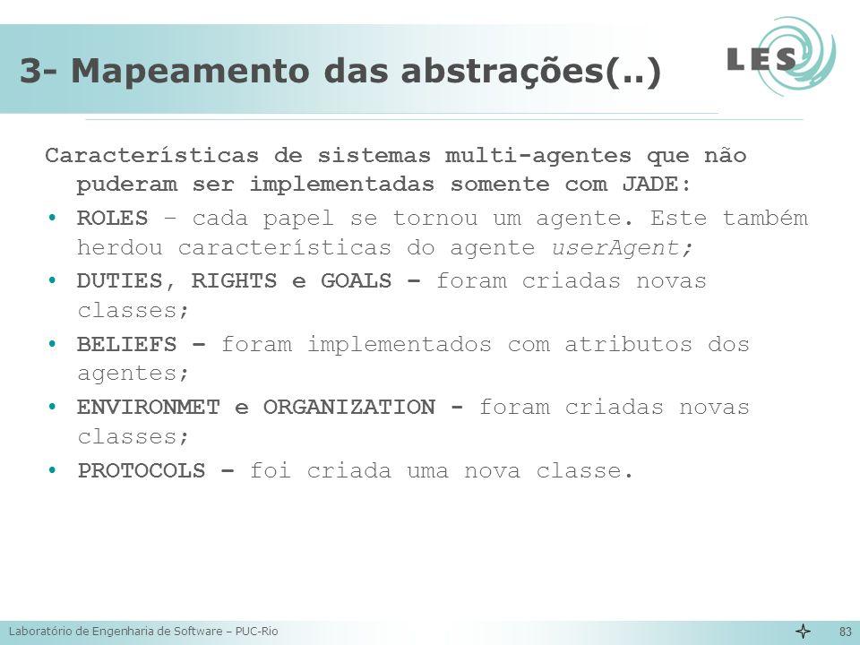 3- Mapeamento das abstrações(..)