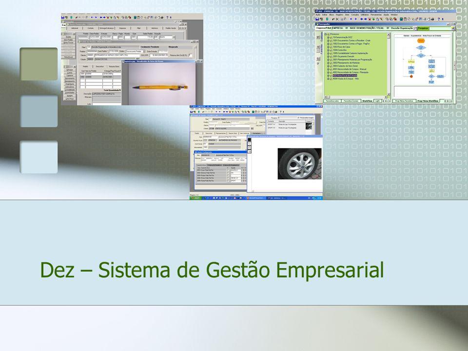 Dez – Sistema de Gestão Empresarial