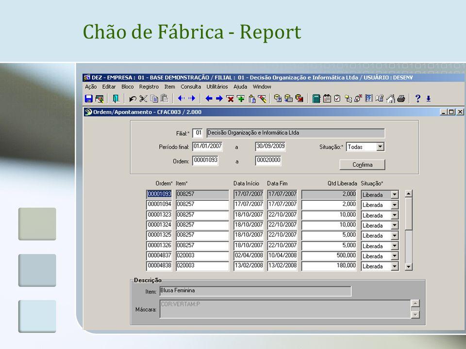 Chão de Fábrica - Report