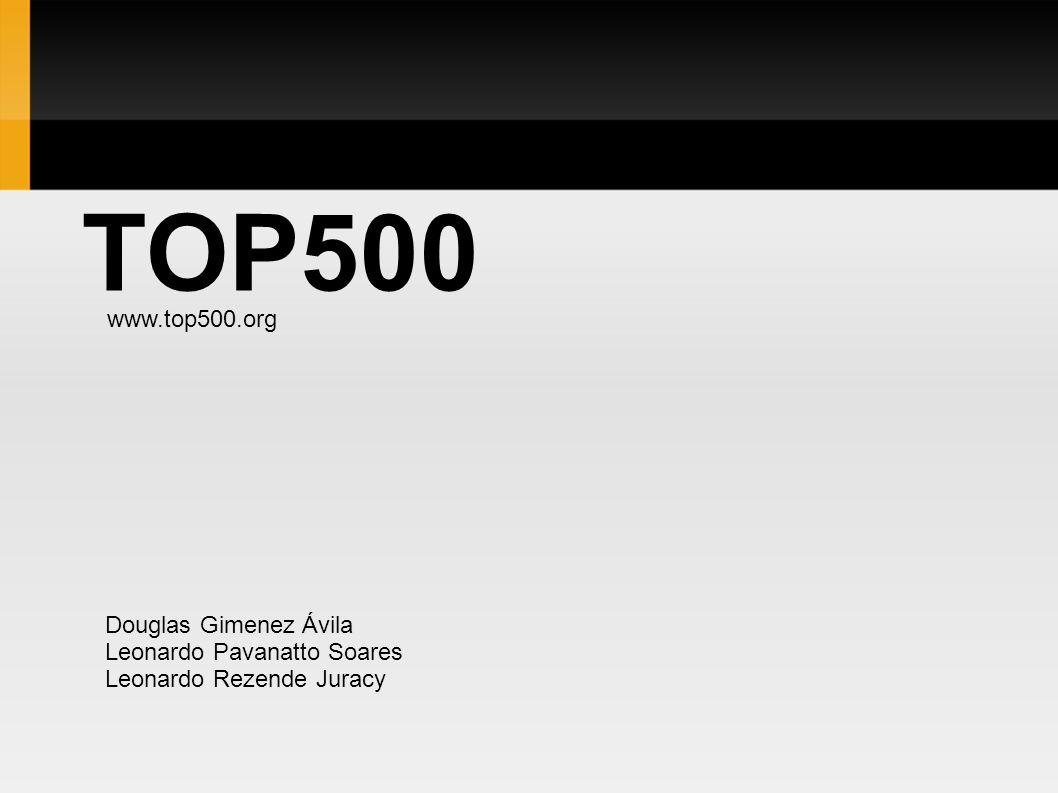 TOP500 www.top500.org Douglas Gimenez Ávila Leonardo Pavanatto Soares