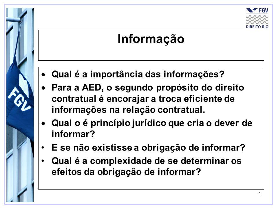 Informação Qual é a importância das informações