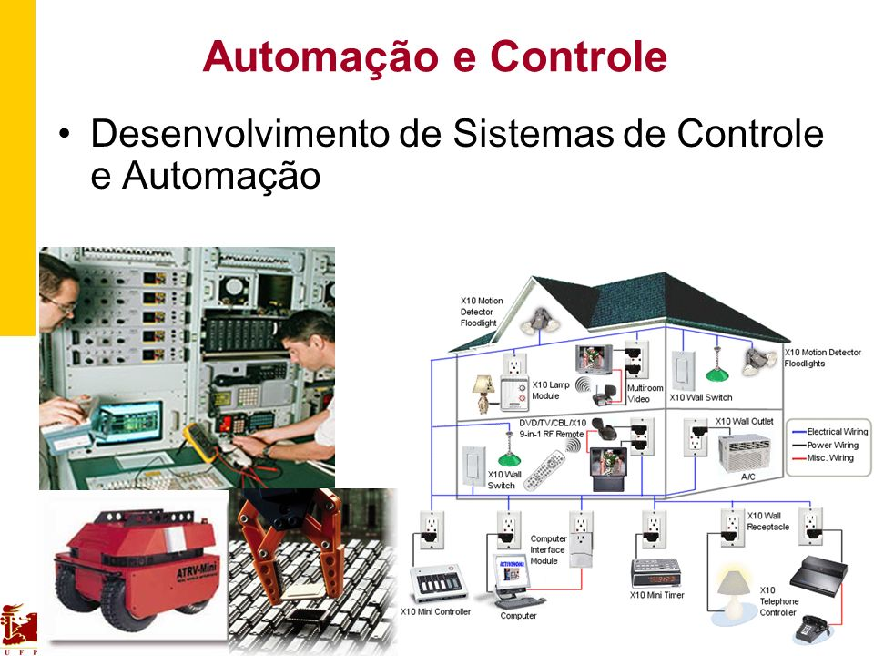 Automação e Controle Desenvolvimento de Sistemas de Controle e Automação