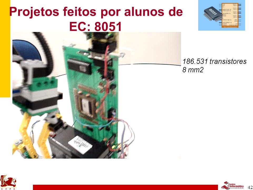 Projetos feitos por alunos de EC: 8051