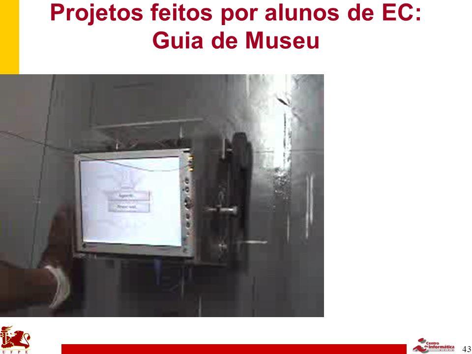 Projetos feitos por alunos de EC: Guia de Museu