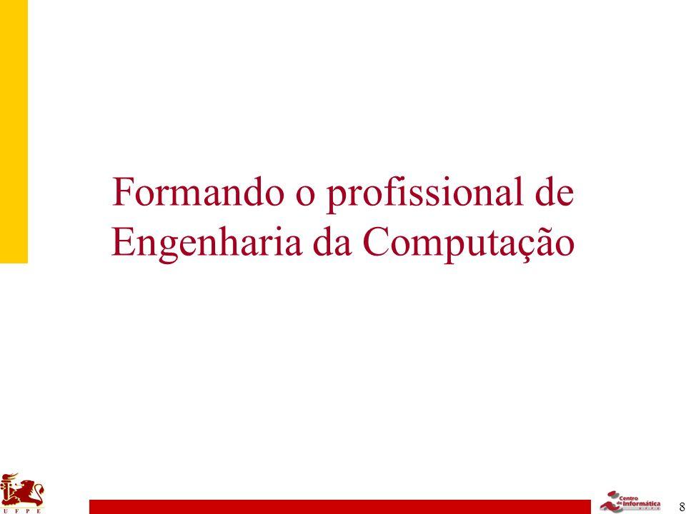 Formando o profissional de Engenharia da Computação