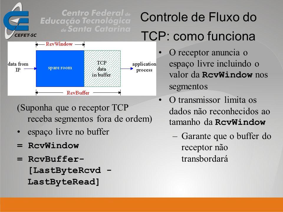 Controle de Fluxo do TCP: como funciona