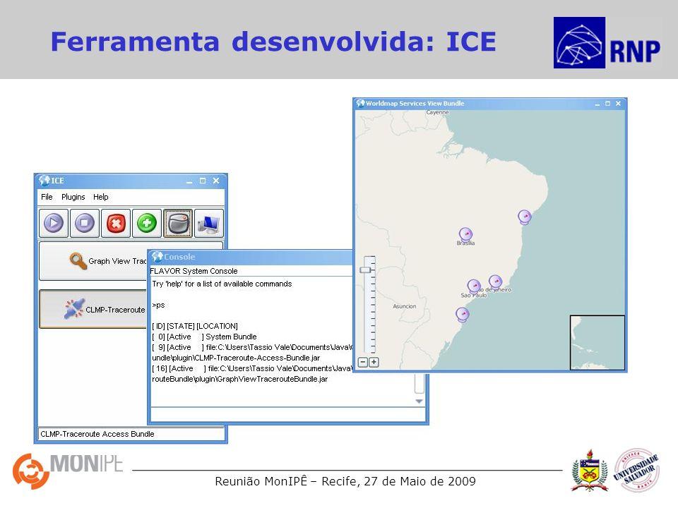 Ferramenta desenvolvida: ICE