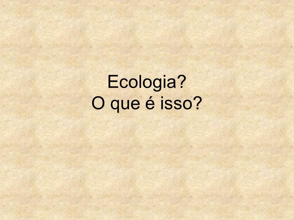 Ecologia O que é isso