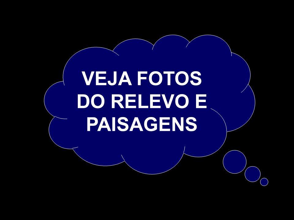 VEJA FOTOS DO RELEVO E PAISAGENS