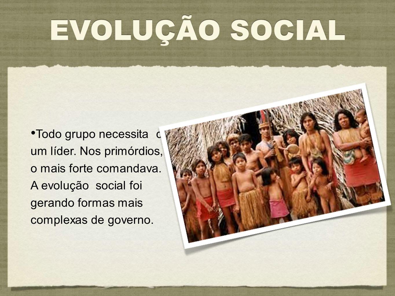 EVOLUÇÃO SOCIAL