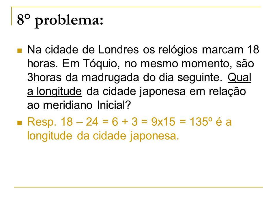 8° problema:
