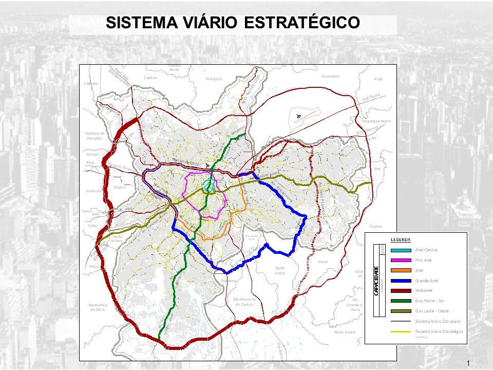 SISTEMA VIÁRIO ESTRATÉGICO