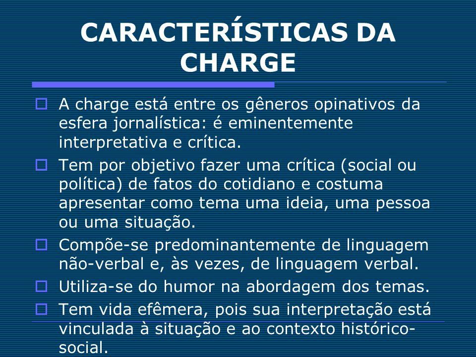 CARACTERÍSTICAS DA CHARGE