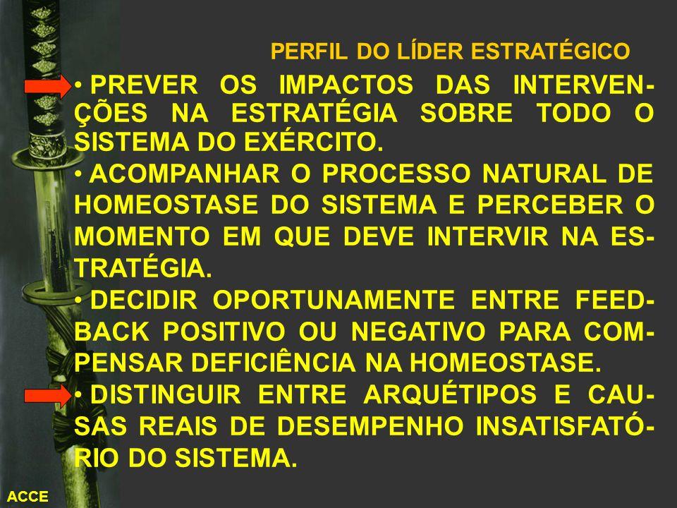PERFIL DO LÍDER ESTRATÉGICO